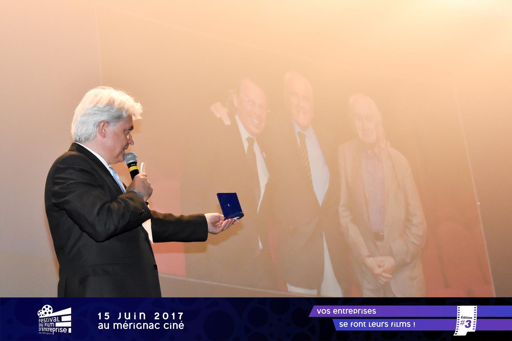 trophée Trophées du Festival du Film d'entreprise de Mérignac