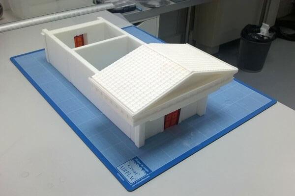 fabrication-maquette-3d Le Parthénon