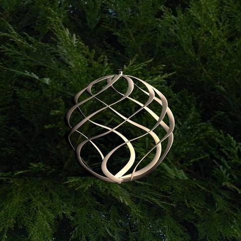 boule-de-noel-impression-3d [Sélection] : Notre sélection de fichier 3D pour noël