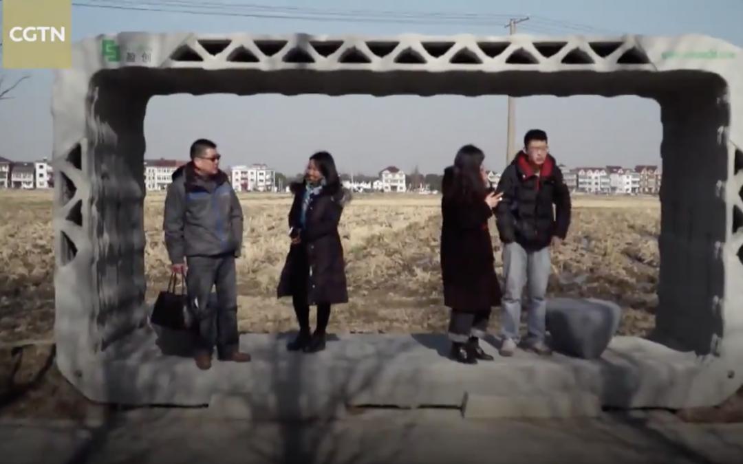 Les premiers arrêts de bus imprimés en 3D inaugurés en Chine