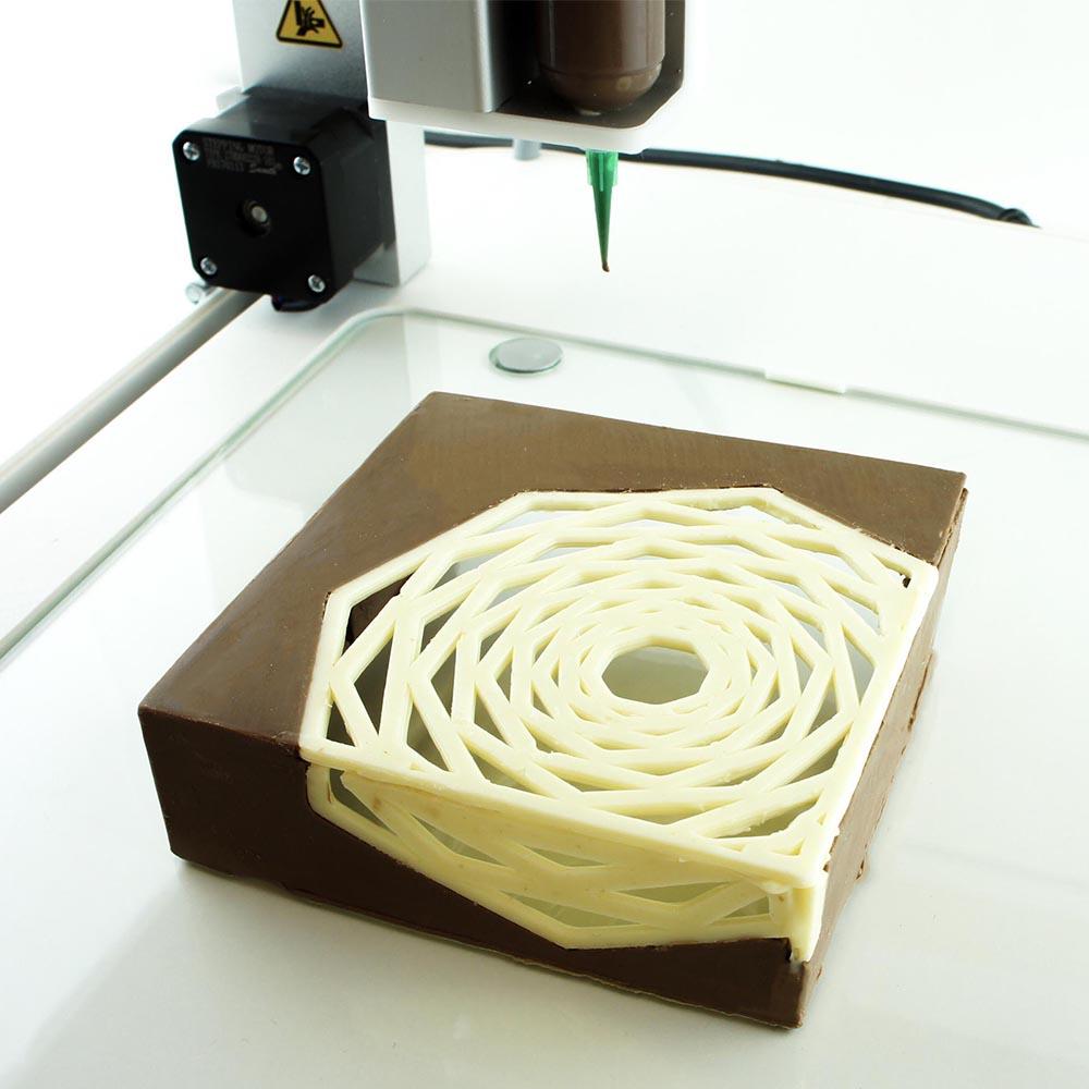 gateau-chocolat-3d Le premier restaurant de plats imprimés en 3D