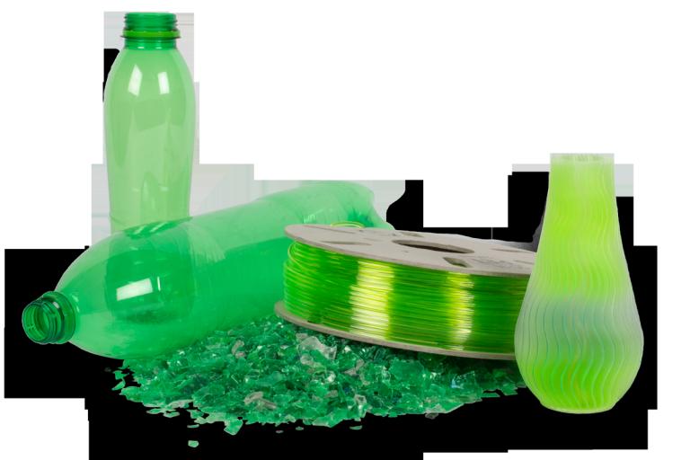 recyclage-bouteille Comment rendre l'impression 3D plus écologique ?