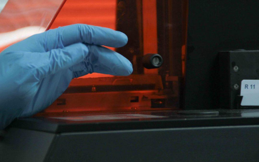 La stéréolithographie, la première technologie d'impression 3D