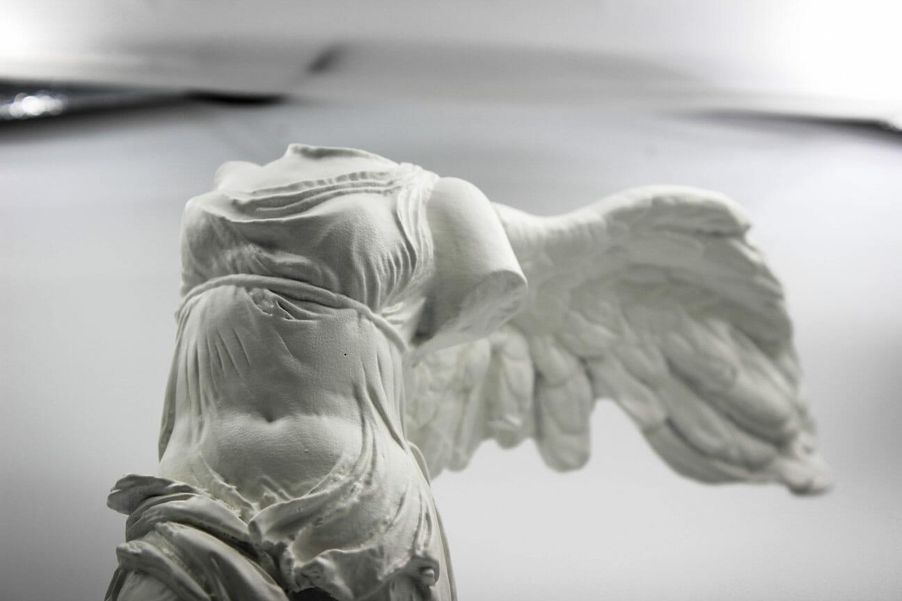 musee-fabrication La Victoire de Samothrace