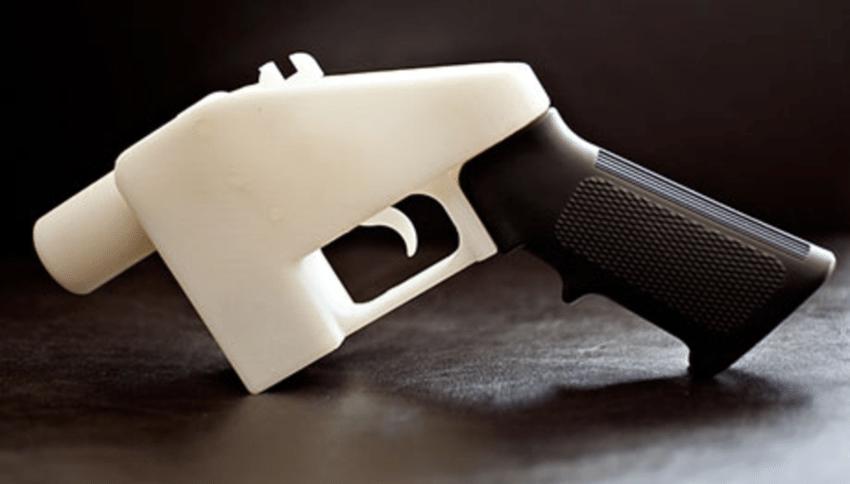 Liberator-Pistolet-imprime-en-3D-utilisant-des-balles-reelles Dagoma hack les fichiers 3D d'armes à feu